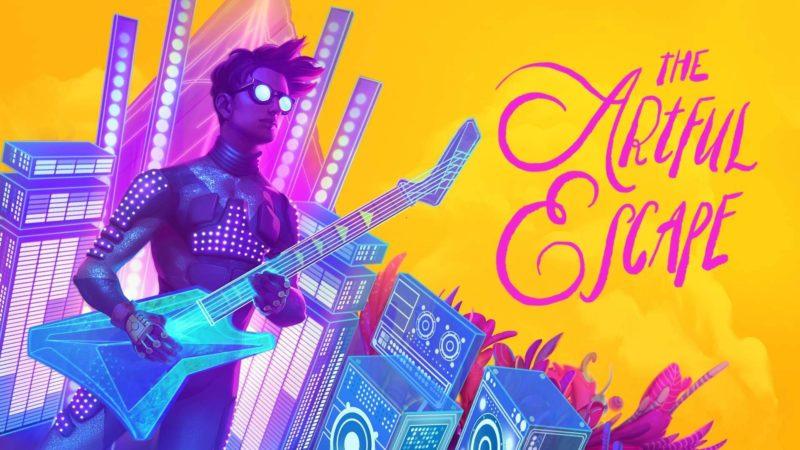 Il videogioco The Artful Escape, un'avventura narrativa Opera Rock straordinaria
