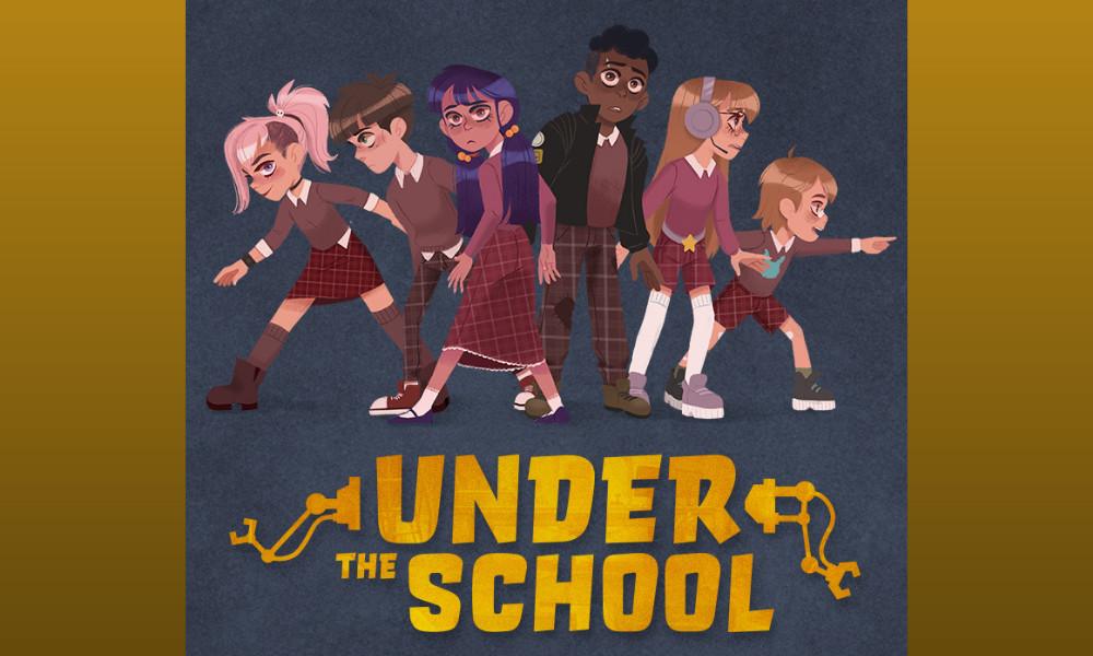 """La serie animata """"Under the School"""" prodotta da Ellipsanime e TimpelPictures"""