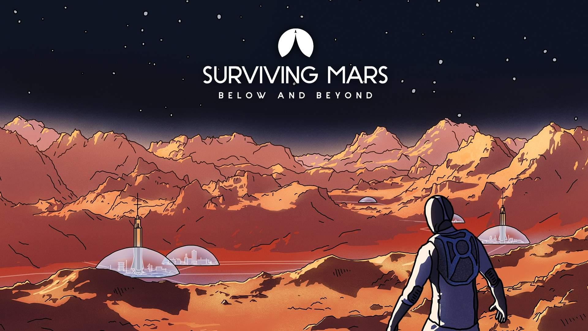 """Il videogioco """"Surviving Mars: Below e Beyond"""". Come sopravvivere su marte"""