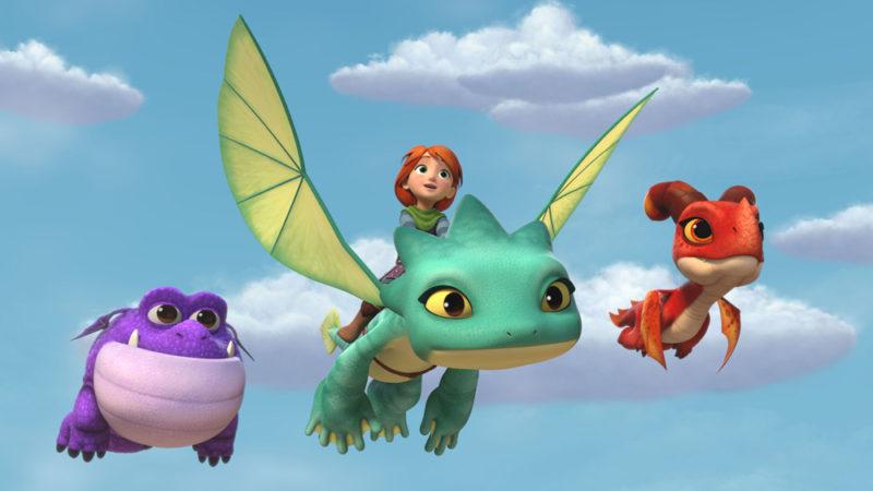 """""""Dragons Rescue Riders: Heroes of the Sky"""" prende il volo con altri preferiti dei bambini su Peacock"""