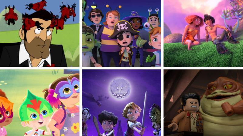 Le serie animate in streaming autunnali: anteprime e nuovi trailer
