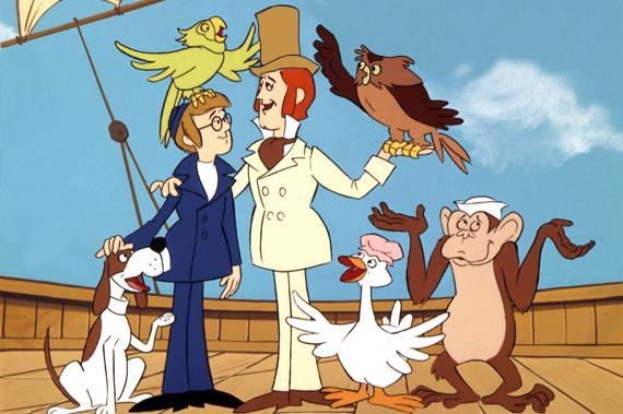 Il meraviglioso dottor Dolittle – La serie animata del 1970