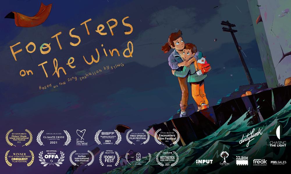 """Sting collabora con la regista Maya Sanbar per """"Passi nel vento"""" storie di rifugiati"""