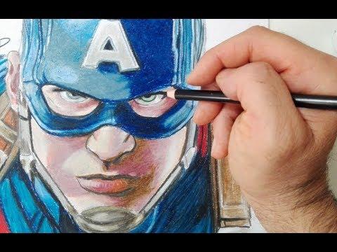 Come disegnare Capitan America