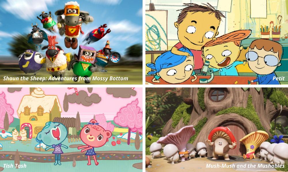 Quattro serie animate si contendono l'International Emmy Kids Award 2021
