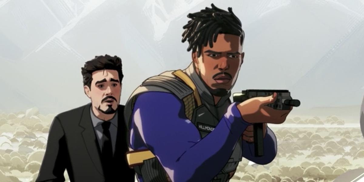 "What if…? Episodio 6 ""E se… Killmonger avesse salvato Tony Stark?"""