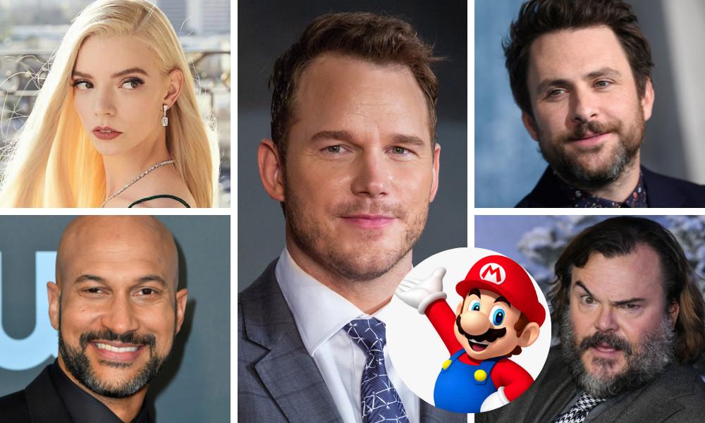 Nintendo e Illumination rivelano il cast di Super Mario Bros