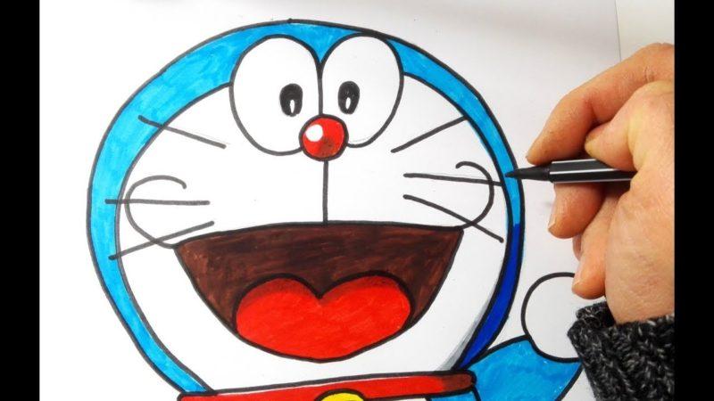 Come disegnare e colorare Doraemon