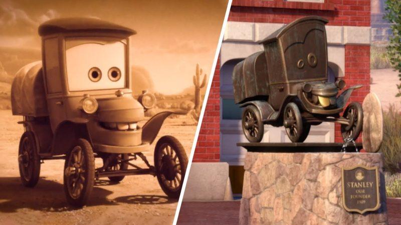 """Guarda il video di Cars Toon """"Cricchetto viaggia nel tempo per incontrare Stanley! """""""