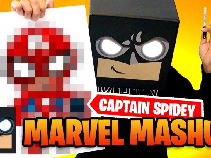 Come disegnare Capitan America 🕷 Spider-Man | Sfida Mash-Up