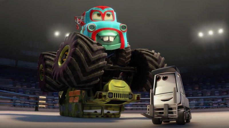 Guarda il video di Cars – Carl Attrezzi è sul Ring!