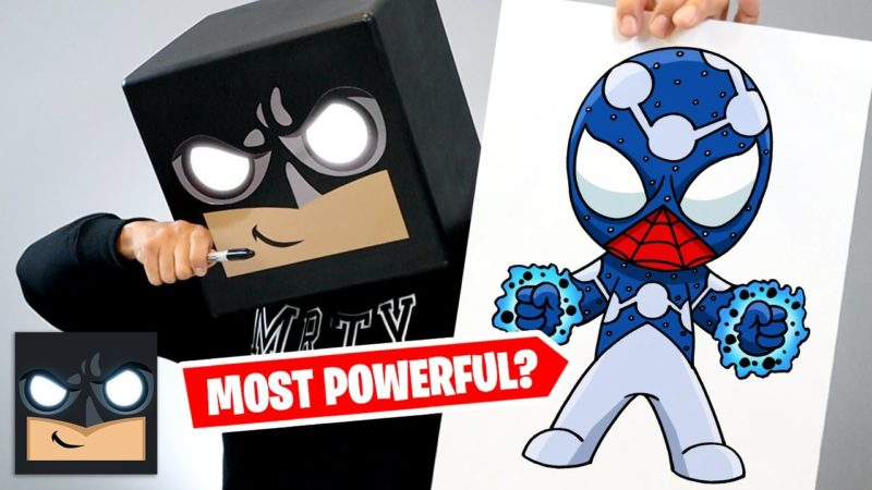 Come disegnare Cosmic Spiderman| Tutorial passo passo
