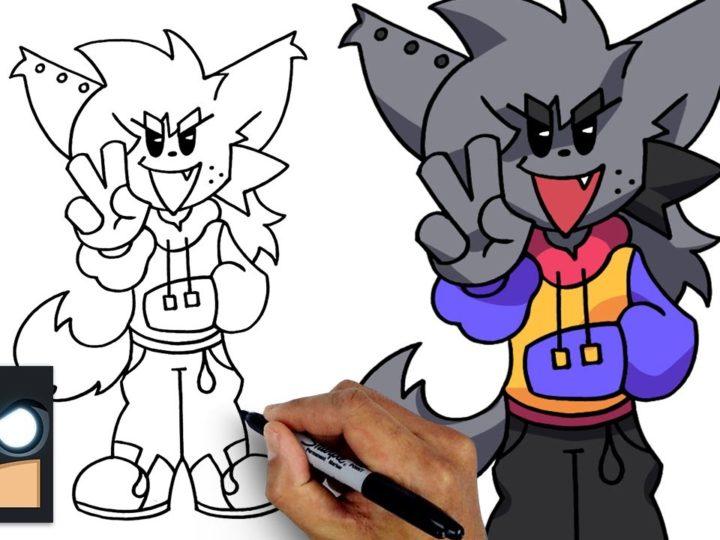 Come disegnare Kapi di Friday Night Funkin
