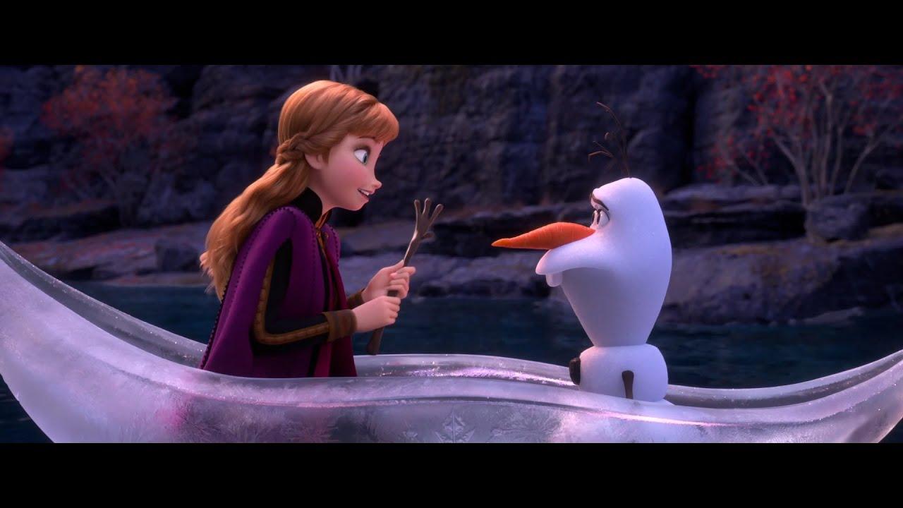 """Guarda il video """"Anna e Olaf vedono i giganti di pietra"""" di Frozen 2 – Il Segreto di Arendelle"""