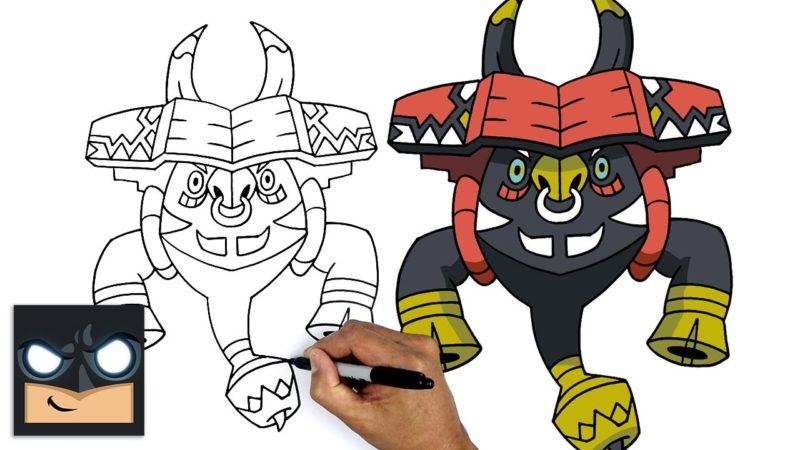 Come disegnare Tapu Bulu dei Pokemon