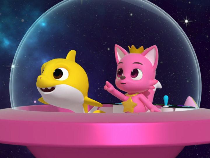 """""""Pinkfong e l'avventura spaziale di Baby Shark"""" il film di animazione"""