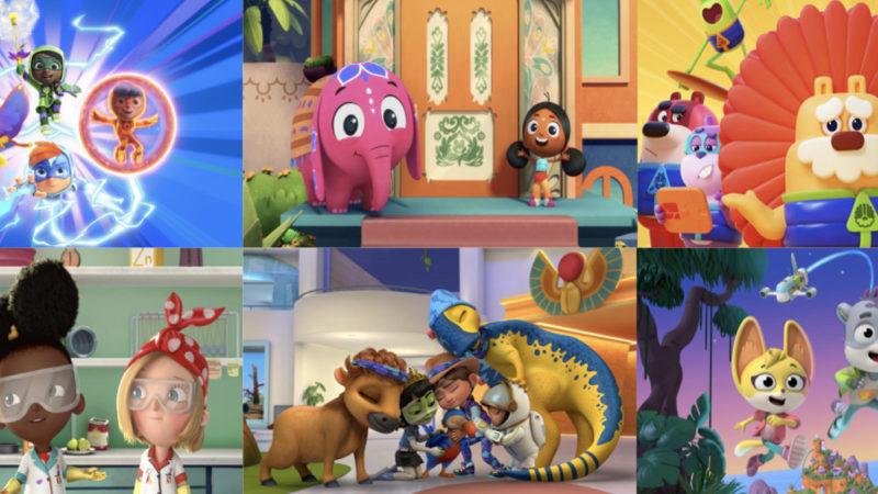 Netflix aumenta le serie animate prescolari