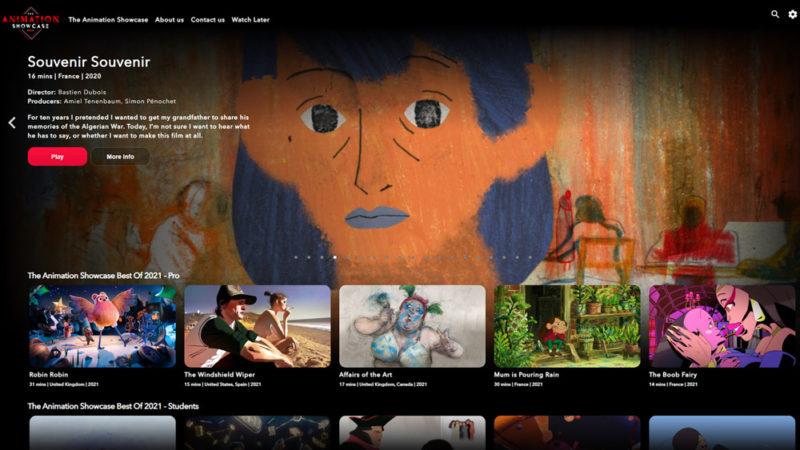 Animation Showcase trasmette i nuovi titoli più importanti per la stagione dei premi