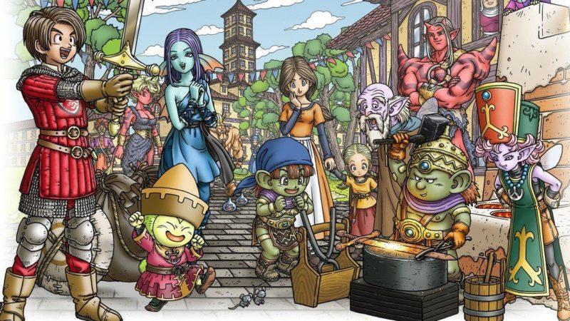 Dragon Quest X Offline è stato confermato per Switch, uscirà in Giappone il prossimo febbraio
