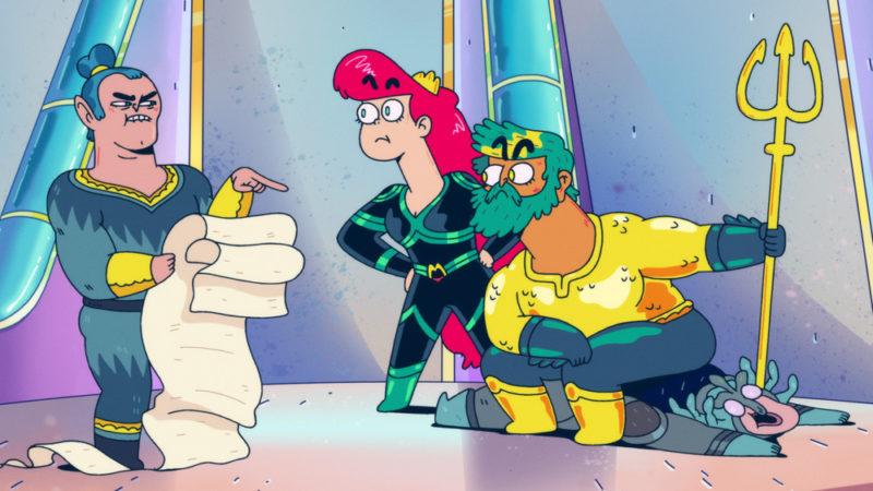 Aquaman: King of Atlantis – La serie animata del 14 ottobre 2021