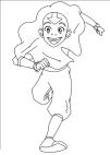 Disegni da colorare di Avatar la leggenda di Aang