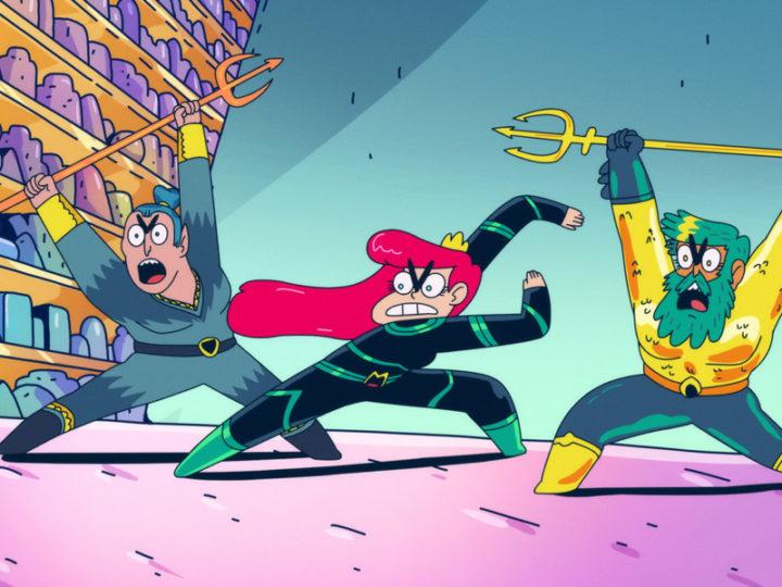 """Anteprima finale: Vulko è intrappolato tra l'incudine e il martello in """"Aquaman: King of Atlantis"""""""