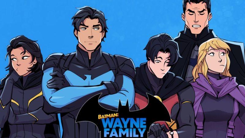 BATMAN: WAYNE FAMILY ADVENTURES La serie Webtoon ottiene un adattamento live-action