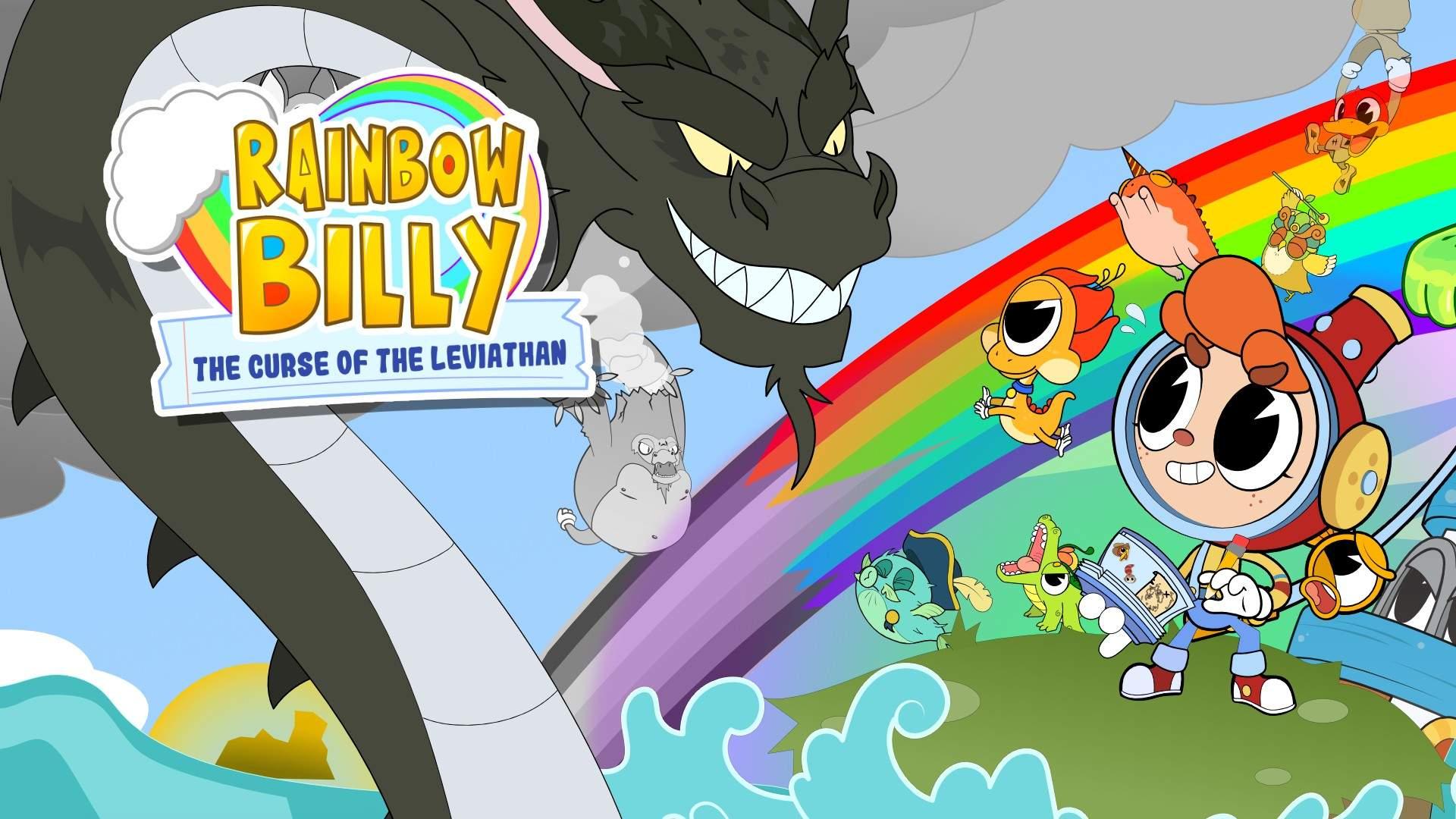Il videogioco Rainbow Billy: The Curse of the Leviathan (La maledizione del Leviatano)