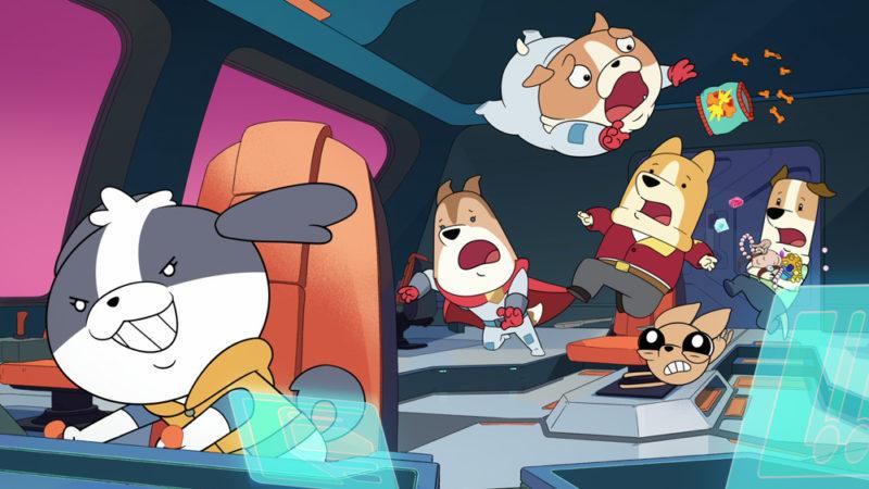 """Primo sguardo: """"Dogs in Space"""" esplode su Netflix il 18 novembre"""