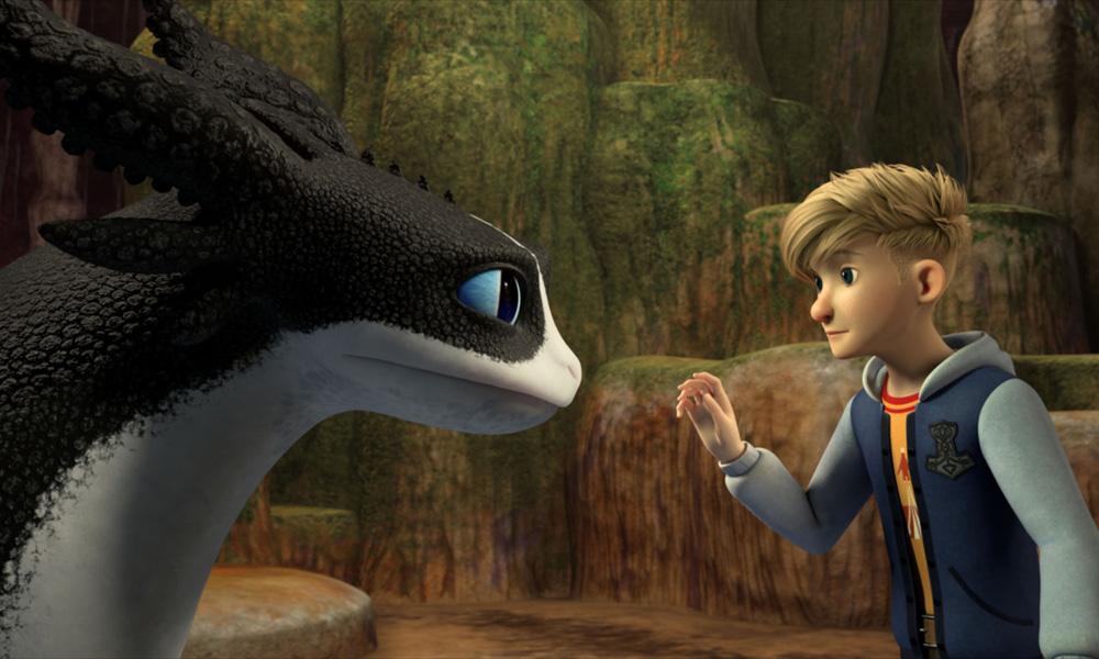 DreamWorks annuncia la nuova serie Dragons: I Nove Regni