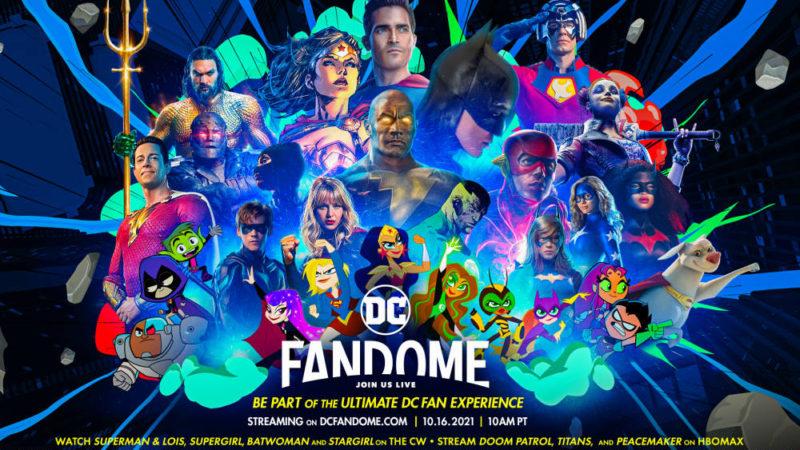 DC Comics inizia il FanDome con il debutto del doppio trailer