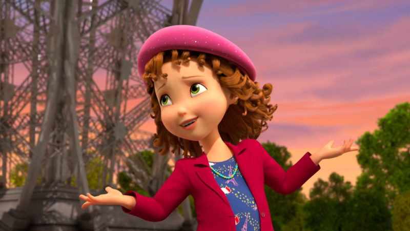 """""""Fancy Nancy"""" vede Parigi  la 3a stagione in anteprima il 12 novembre"""