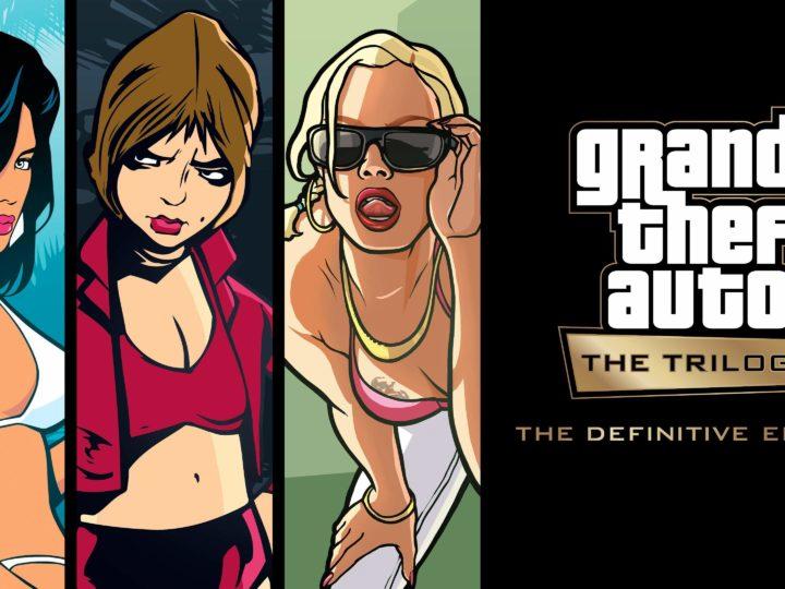 Grand Theft Auto: The Trilogy – The Definitive Edition in arrivo l'11 novembre