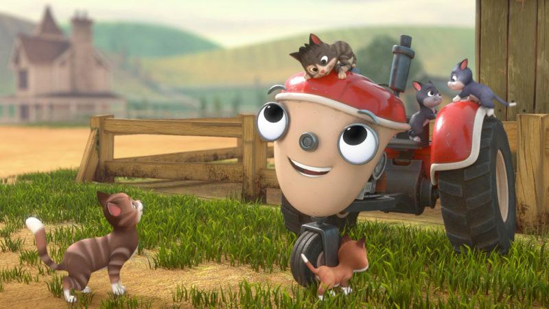 La serie animata Get Rolling with Otis (Inizia a girare con Otis) su Apple TV+