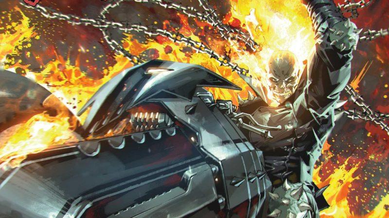 Johnny Blaze cavalca di nuovo nella nuova serie GHOST RIDER