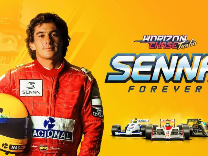 Rivivi le sfide e le vittorie di Senna in Horizon Chase Turbo: Senna Forever