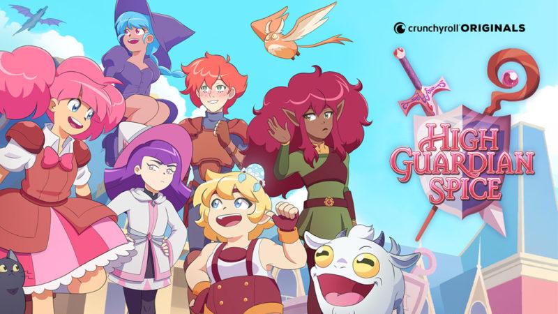 "I trailer della serie originale di Crunchyroll ""High Guardian Spice"""