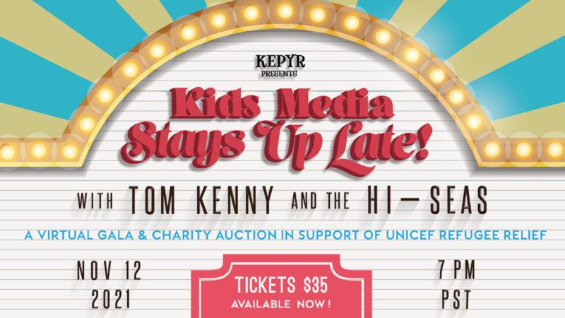 Tom Kenny titola l'evento virtuale KEPYR per aiutare i bambini rifugiati
