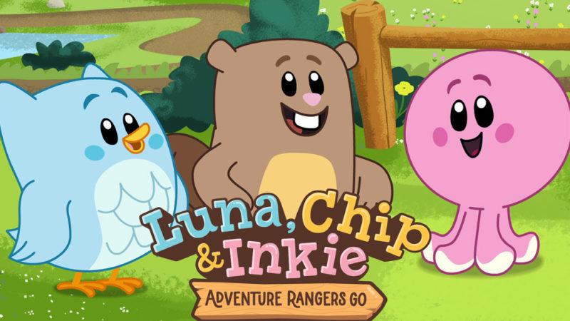"""""""Luna, Chip & Inkie"""" – La serie animata per bambini della Knowledge Network"""