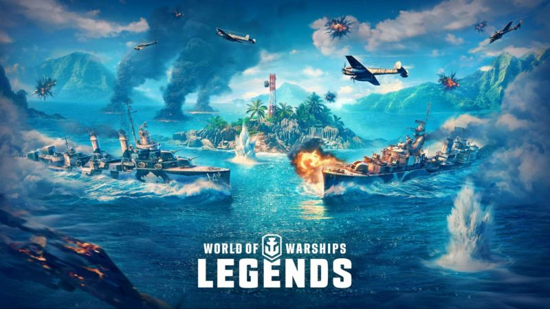 Il videogioco World of Warships: Legends