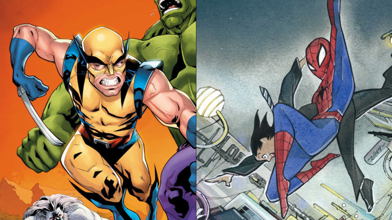 La Marvel rivela le cover variant in omaggio per gennaio