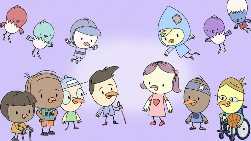 """Sweet Tweets"" la serie animata per bambini"