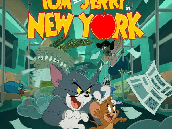"""""""Tom&Jerry a New York"""" La nuova serie in prima TV  dall'1 al 10 ottobre su Boomerang."""