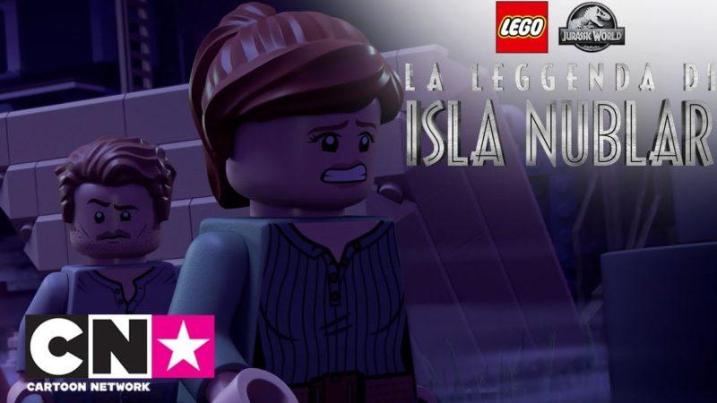 Un Fantasma! | Jurassic World: La Leggenda di Isla Nublar | Cartoon Network
