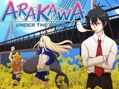 Arakawa Under the Bridge – La serie anime e manga del 2010