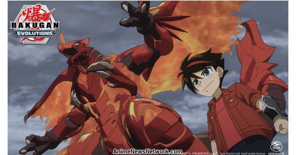 L'anime Bakugan: Evolutions debutterà all'inizio del 2022