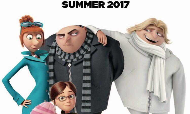 Cattivissimo Me 3 – Il film di animazione del 2017