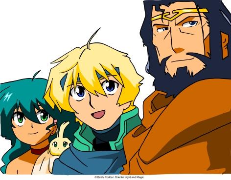 Deltora Quest (Derutora Kuesuto) – La serie anime fantasy del 2007