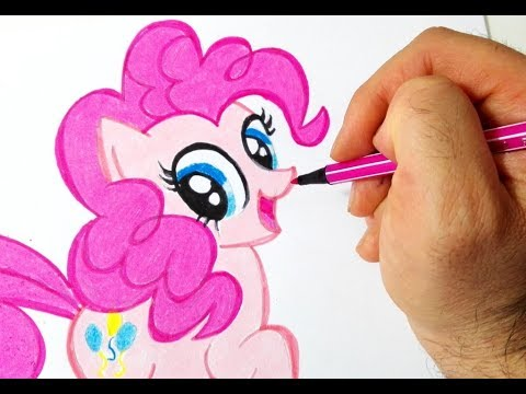 Come disegnare Pinkie Pie di My Little Pony
