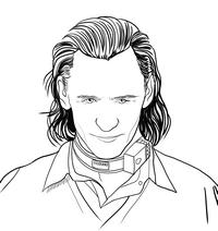 Disegni da colorare di Loki